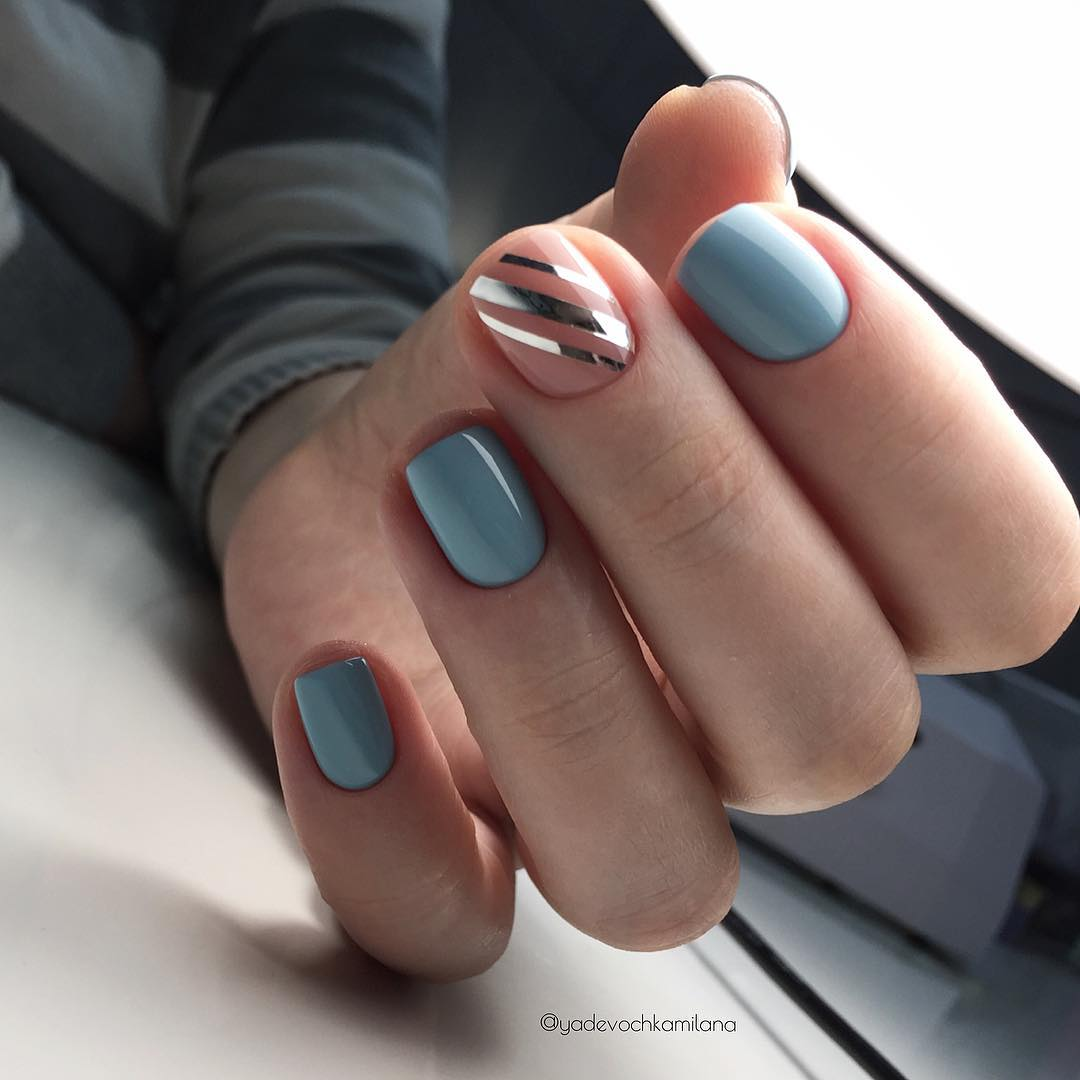 маникюр-на-день-матери-на-короткие-ногти
