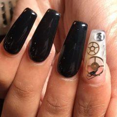 black-steampunk-acrylic-nails