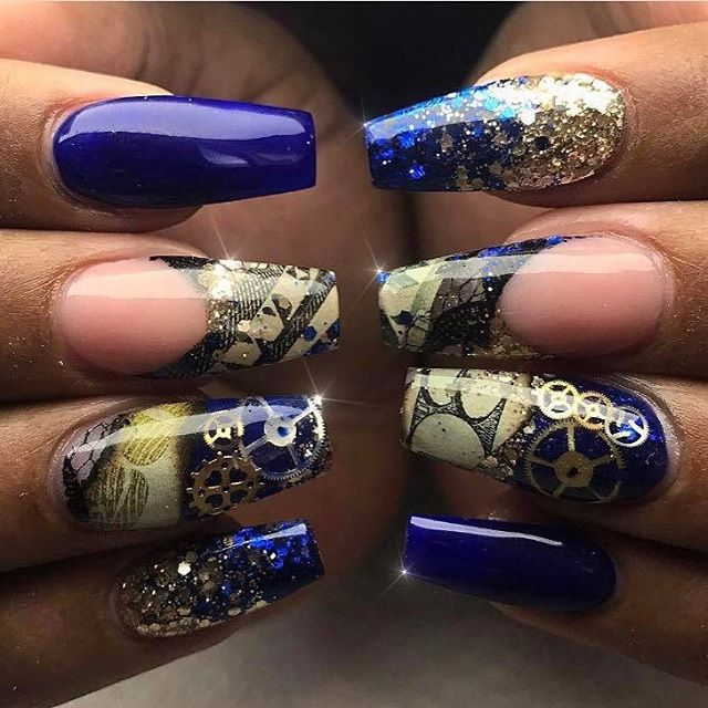 blue-steampunk-nails