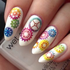 steampunk-colorful-nails