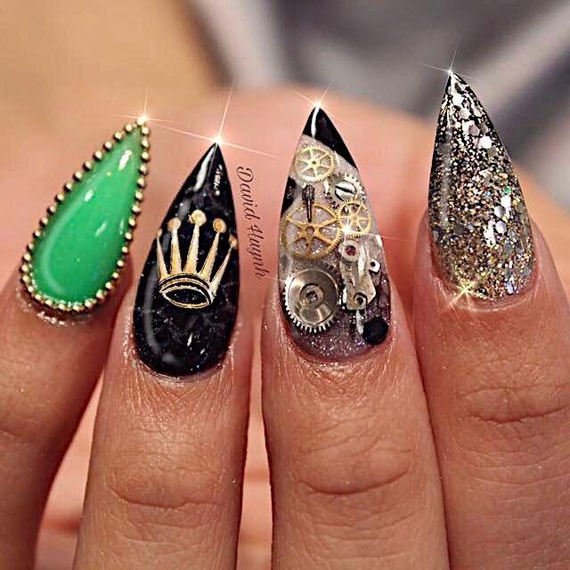 steampunk-manicure