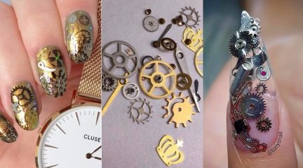 steampunk-nails
