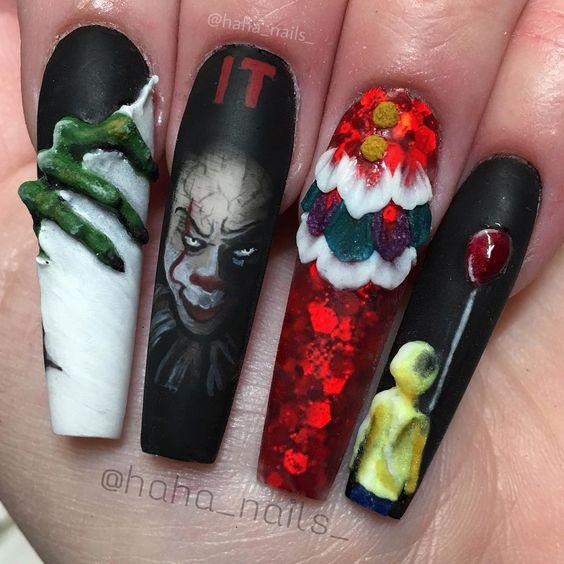длинные нарощенные ногти фильм оно