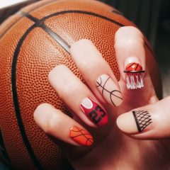 маникюр-баскетбол