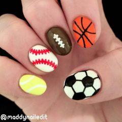 маникюр-спортивные-мячи