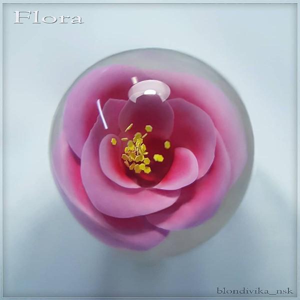 iceball-розовый-цветок