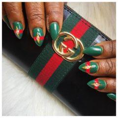 красно-зеленые-ногти-гуччи