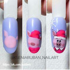 год-свиньи-ногти
