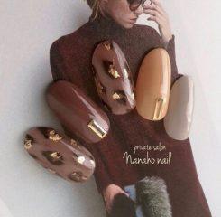 светло-кричневые-леопардовые-ногти