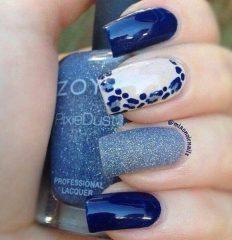 синий-леопардовый-маникюр