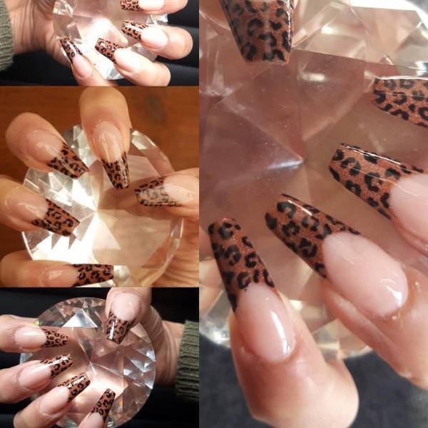 французский-леопардовый-маникюр