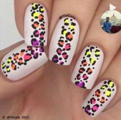леопардовый-принт-на-ногтях