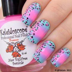 розово-голубой-леопардовый-маникюр